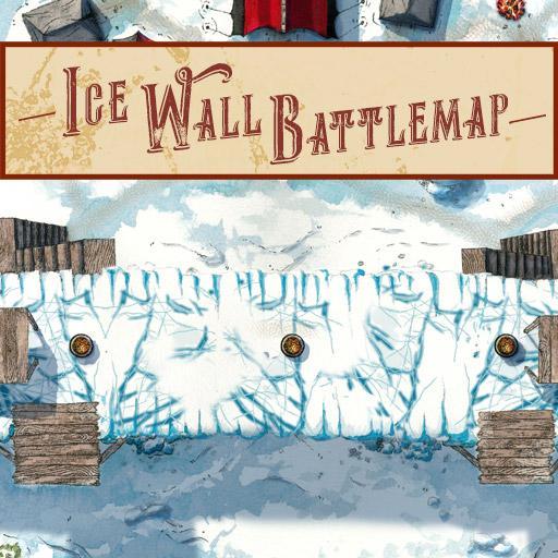 Ice Wall Battlemap