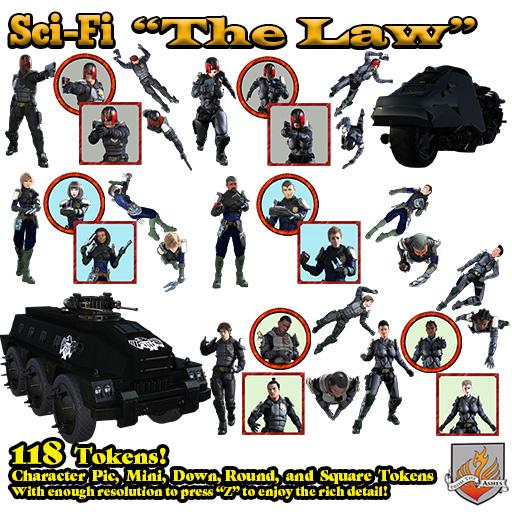 Sci-Fi:  The Law