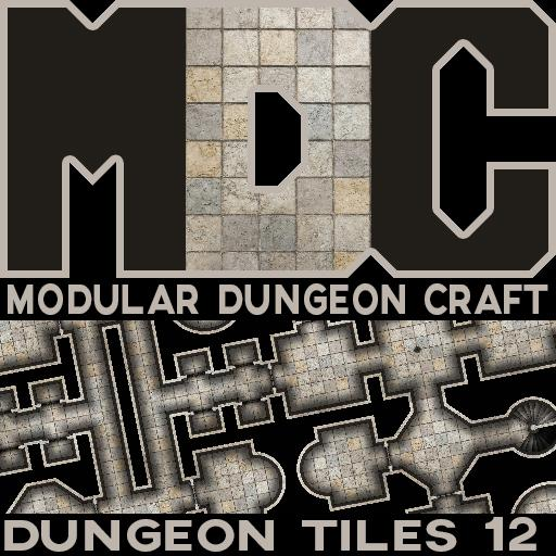 Modular Dungeon Craft, Dungeon Tiles 12