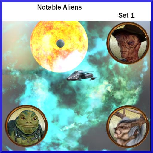 Notable Aliens: Set 1