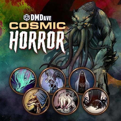 DMDave Cosmic Horror Token Pack