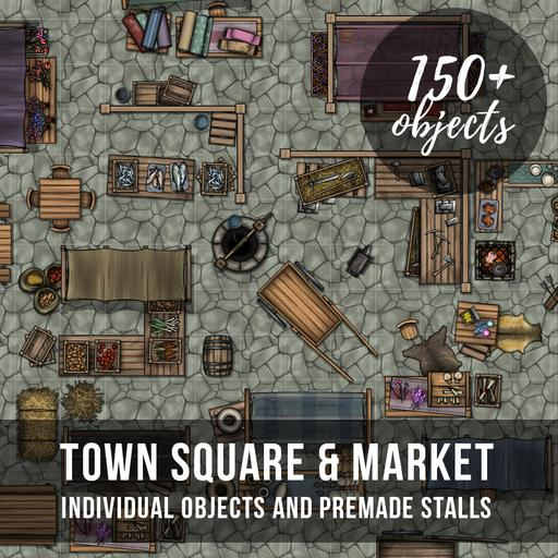 Town Square & Market Assets