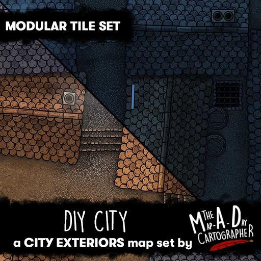 DIY City - Modular Tile Pack