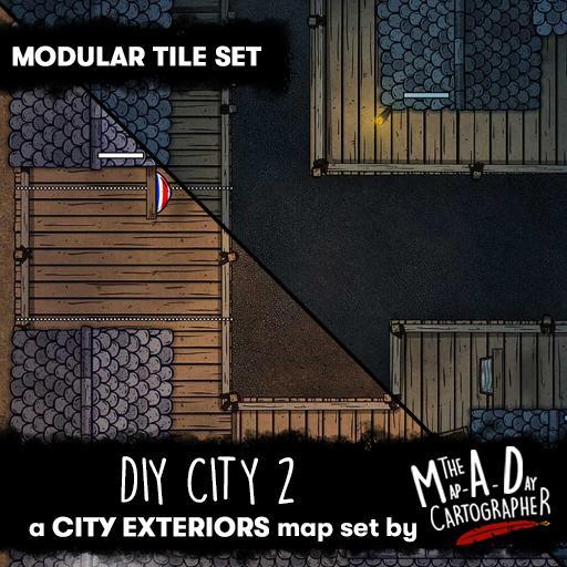 DIY City 2 - Modular Tile Pack