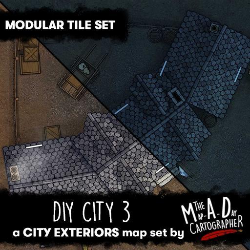 DIY City 3 - Modular Tile Pack