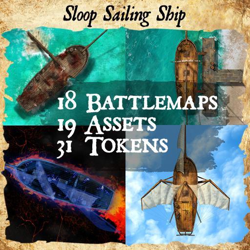 Sloop Sailing Ship