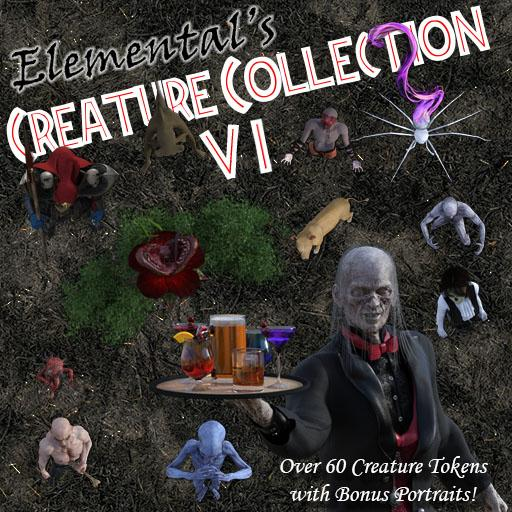 Elemental's Creature Collection 6