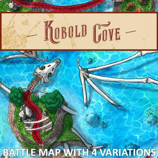 Kobold Cove Battlemap