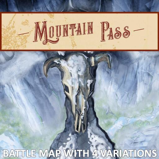 Mountain Pass Battlemap
