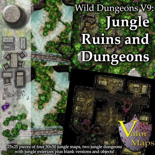 Wild Dungeons V9: Jungle Ruins & Dungeons