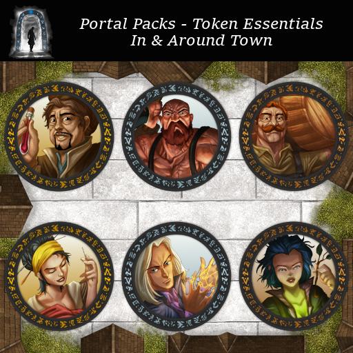 Portal Packs - Token Essentials - In & Around Town