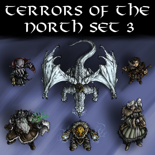 Terrors of the North Set 3