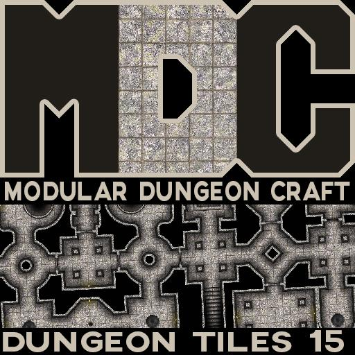 Modular Dungeon Craft, Dungeon Tiles 15