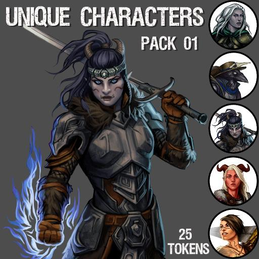 Unique Characters Pack 01