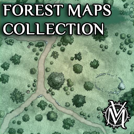 Forest Maps Collection