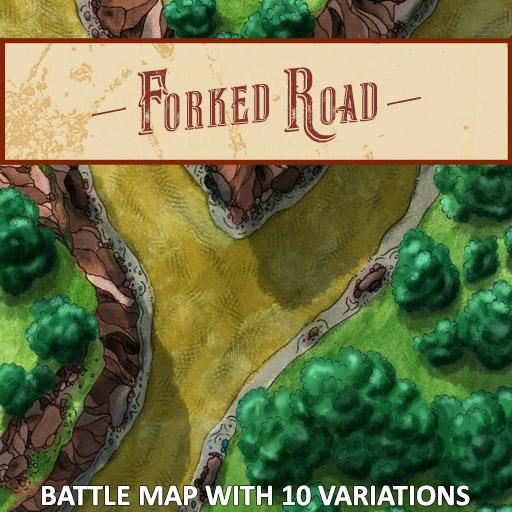Forked Road Battle Map