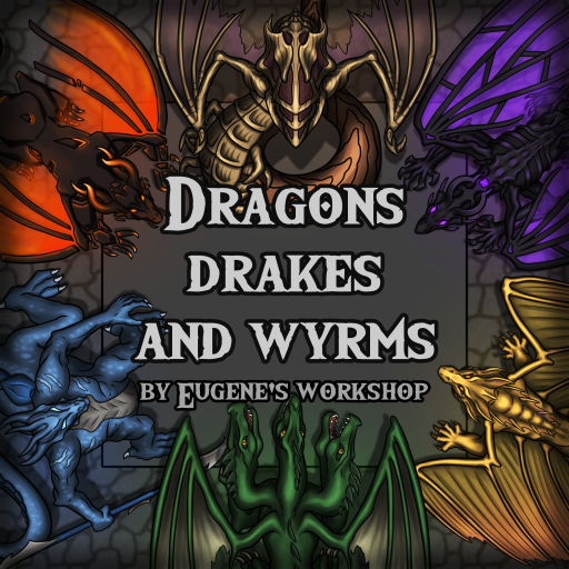 Dragons, Drakes and Wyrms