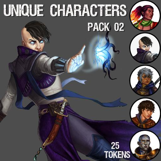 Unique Characters Pack 02