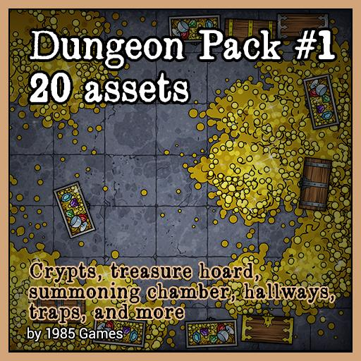 Dungeon Pack #1