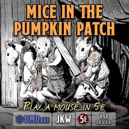 Mice in the Pumpkin Patch