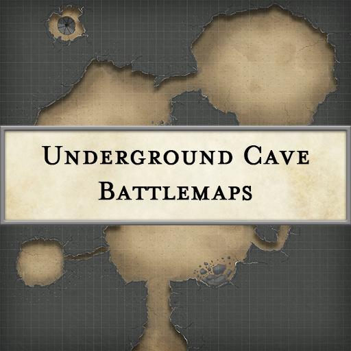 Underground Cave Battlemaps