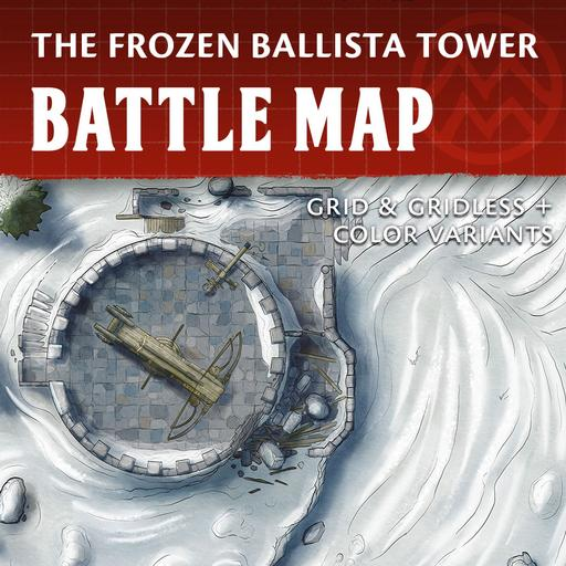 Frozen Ballista Tower - Battle Map