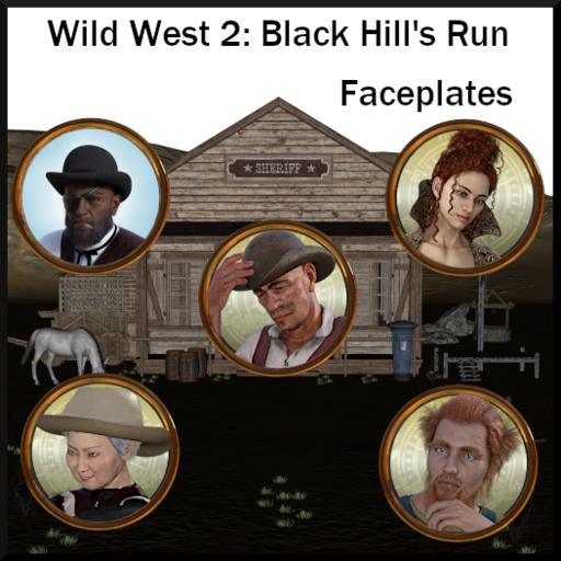 Wild West: Faceplates