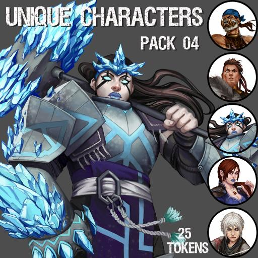 Unique Characters Pack 04