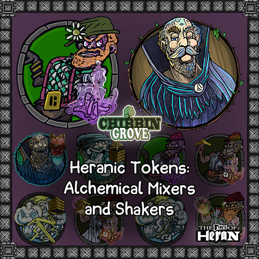 Heranic Tokens: Alchemical Mixers and Shakers