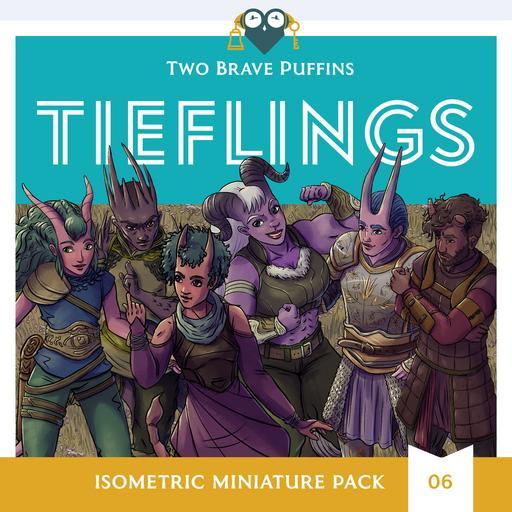 Tieflings - Isometric Heroes Pack 06