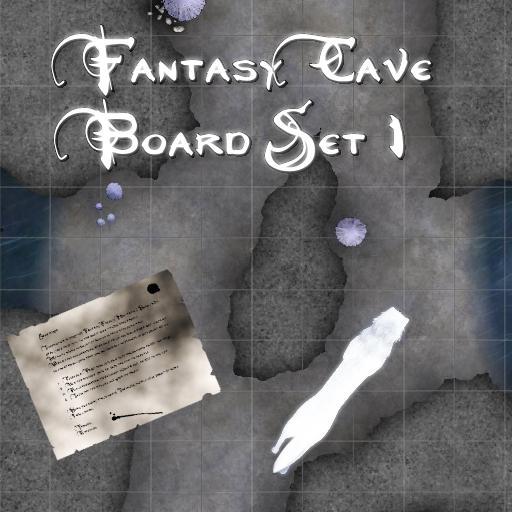Fantasy Cave Boards Set 1