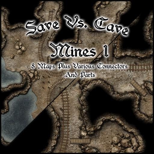 Save Vs. Cave Mines 1