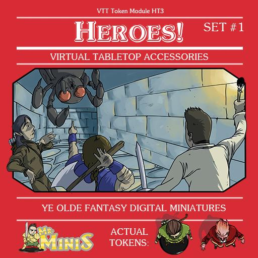 Mr. Mini's Heroes! Set #1