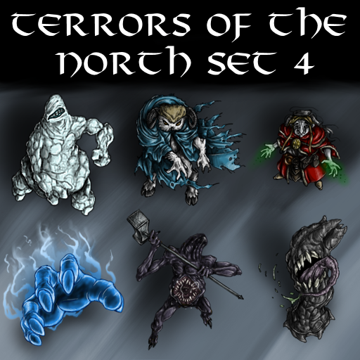 Terrors of the North Set 4
