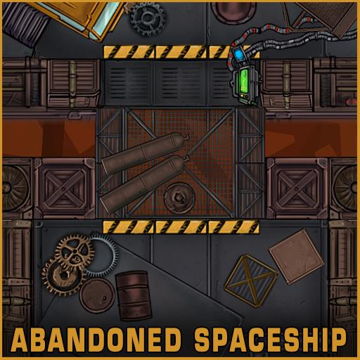 Abandoned Spaceship Tile Set