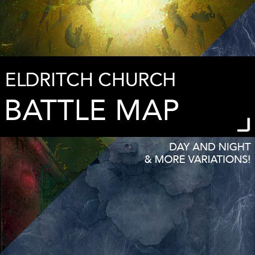 Eldritch Chuch Battle Maps