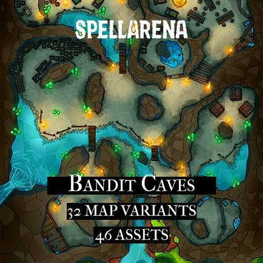 Bandit Caves Maps and Assets Pack