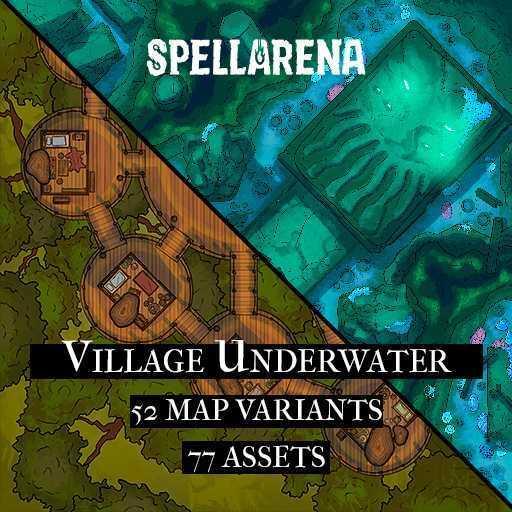 Village Underwater Map Pack