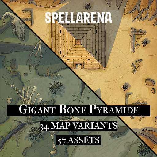 Gigant Bone Piramide Map Pack