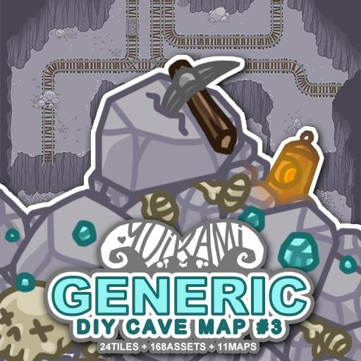 Generic DIY Cave Map 3
