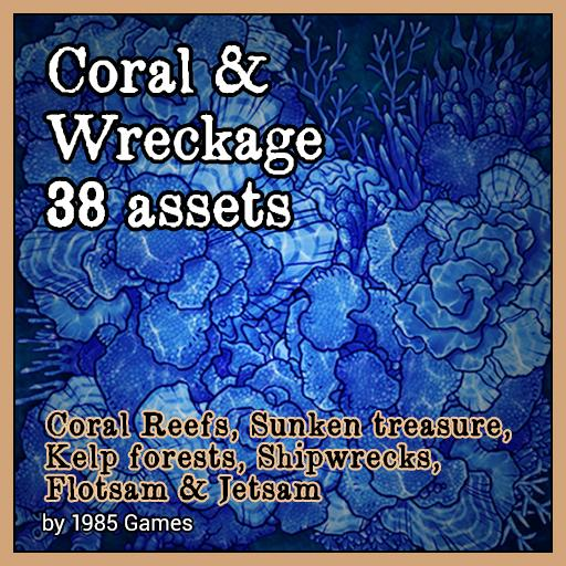 Coral & Wreckage