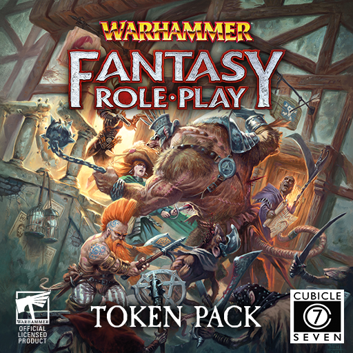 Warhammer Fantasy Roleplay 4e Core Tokens