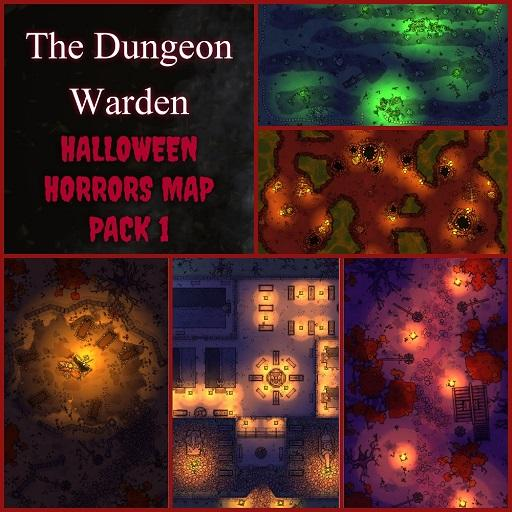Halloween Horrors Map Pack1