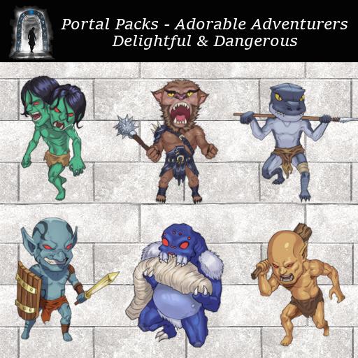Portal Packs - Adorable Adventurers - Delightful & Dangerous