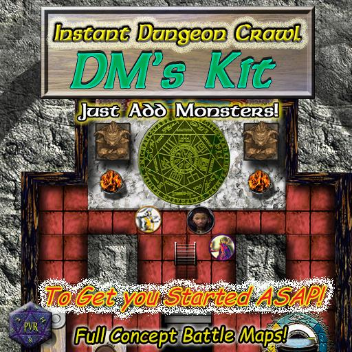 Instant Dungeon Crawl: DM's Kit