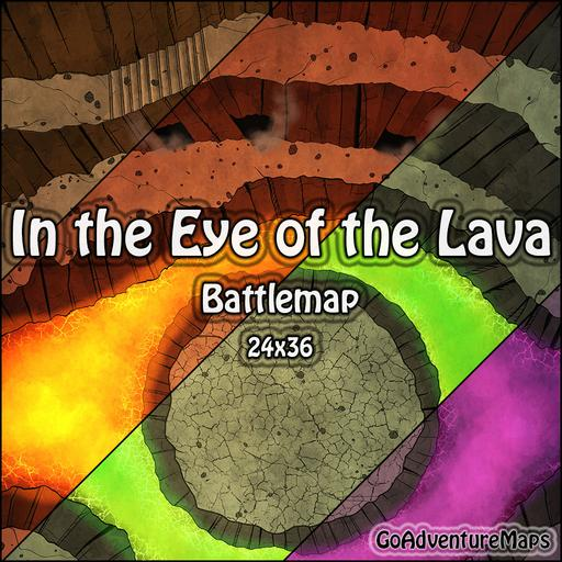 In the Eye of the Lava