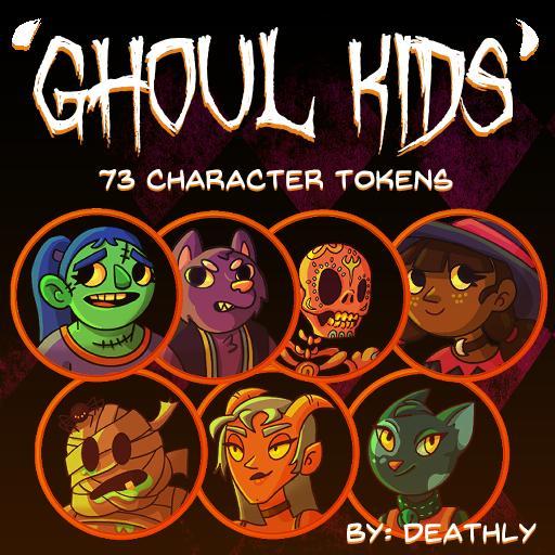 'Ghoul' Kids Tokens