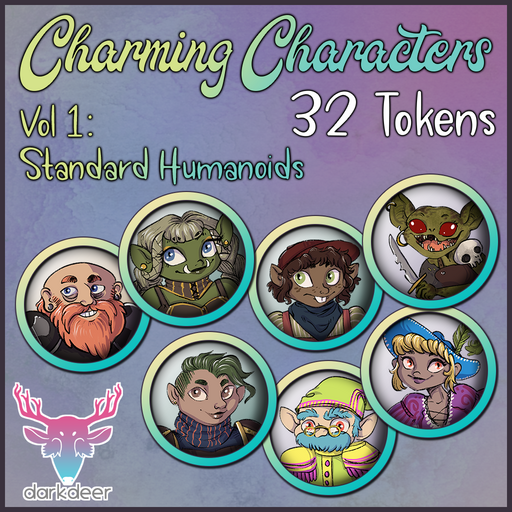 Charming Characters: Vol 1