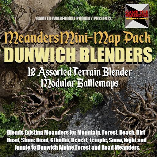 Meanders Mini-Map Pack DUNWICH TERRAIN BLENDERS