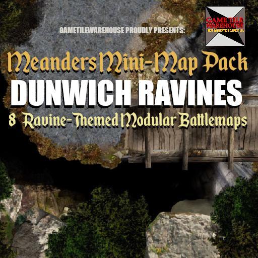 Meanders Mini-Map Pack DUNWICH RAVINES